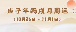 五行生肖一周运(10.26-11.1)