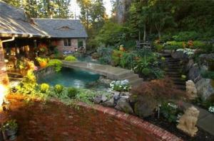 宅院周围池塘水坑吉凶断